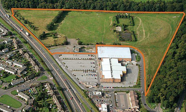 The land at Camperdown Park sold for £1.2 million.