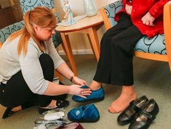 Fife puts its right foot forward in preventing falls