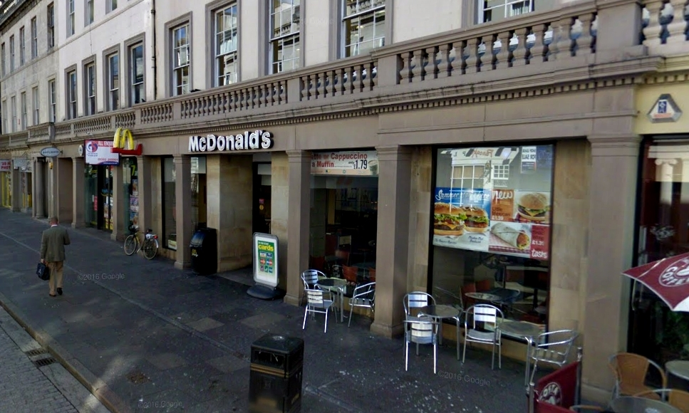 McDonald's in Reform Street, Dundee.