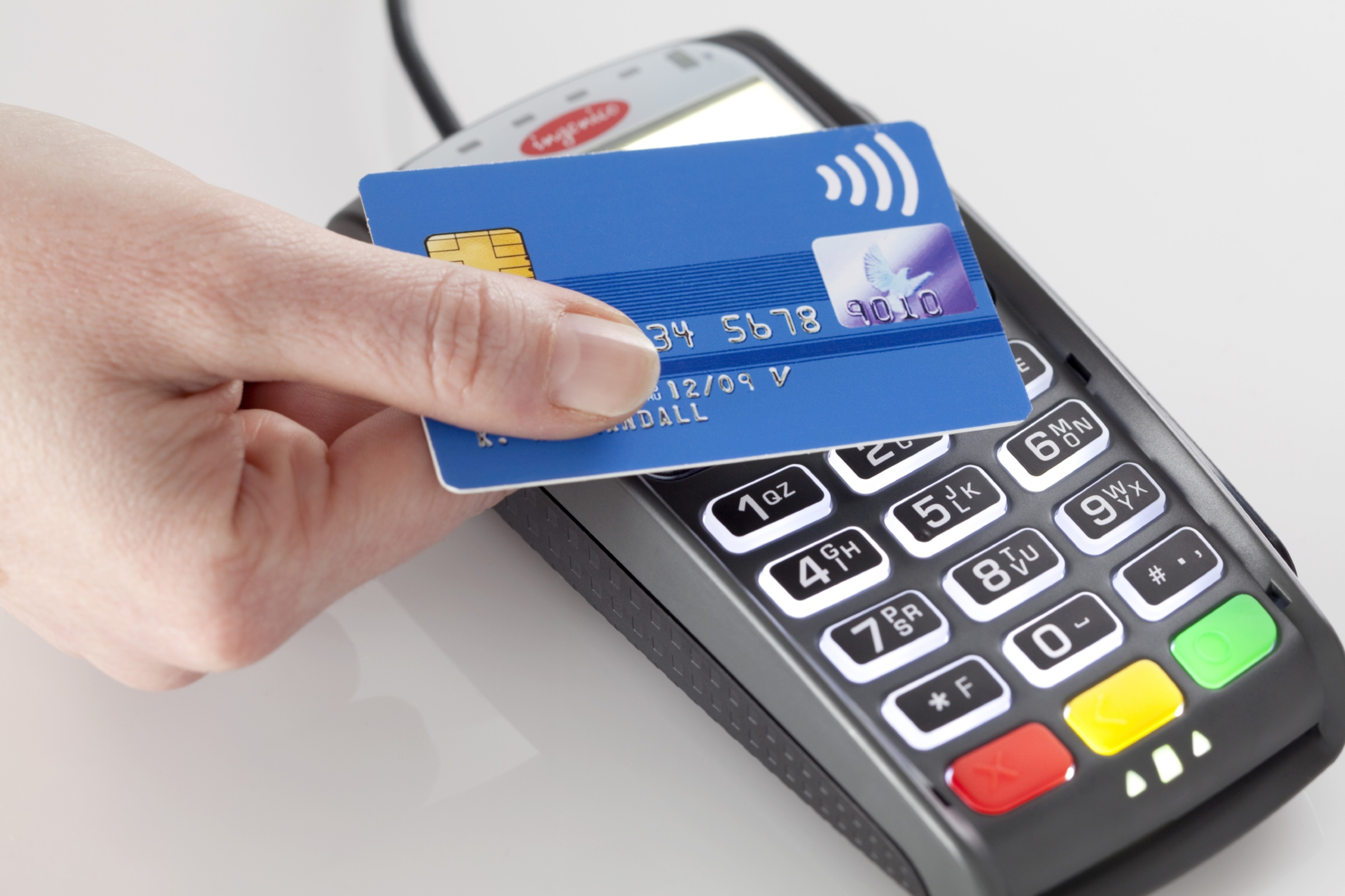 Ingenico's contactless card ticketing terminal