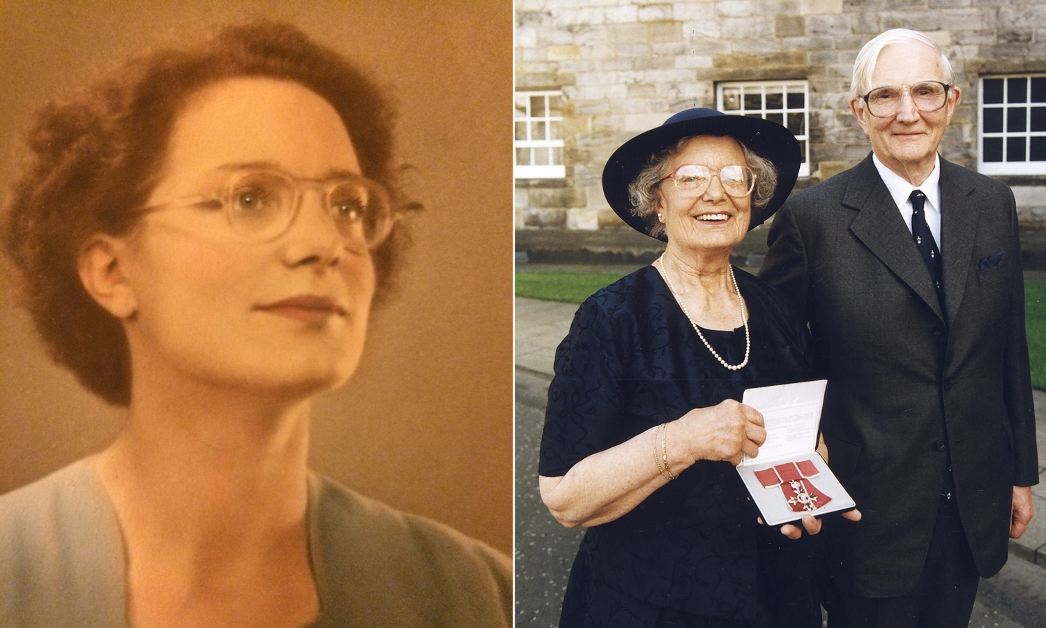 Jean married Derek Thomson in 1946 and received an MBE in 1999.
