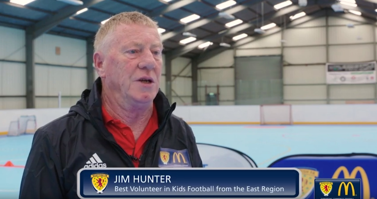 Jim Hunter who has been nominated for a national award.