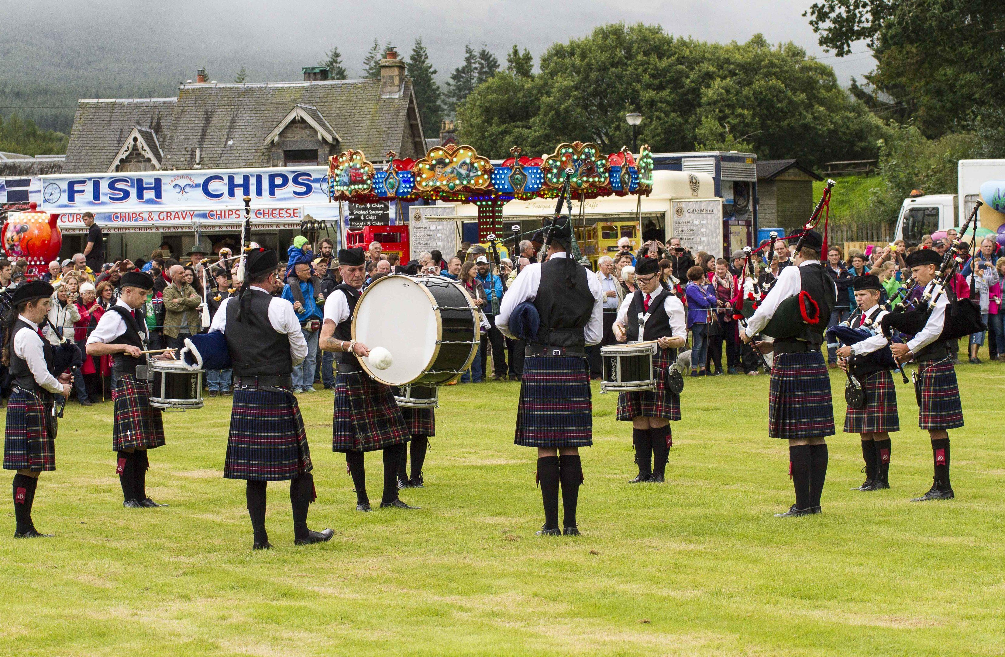 Killin Highland Games.