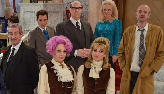 The cast of Are You Being Served 2016