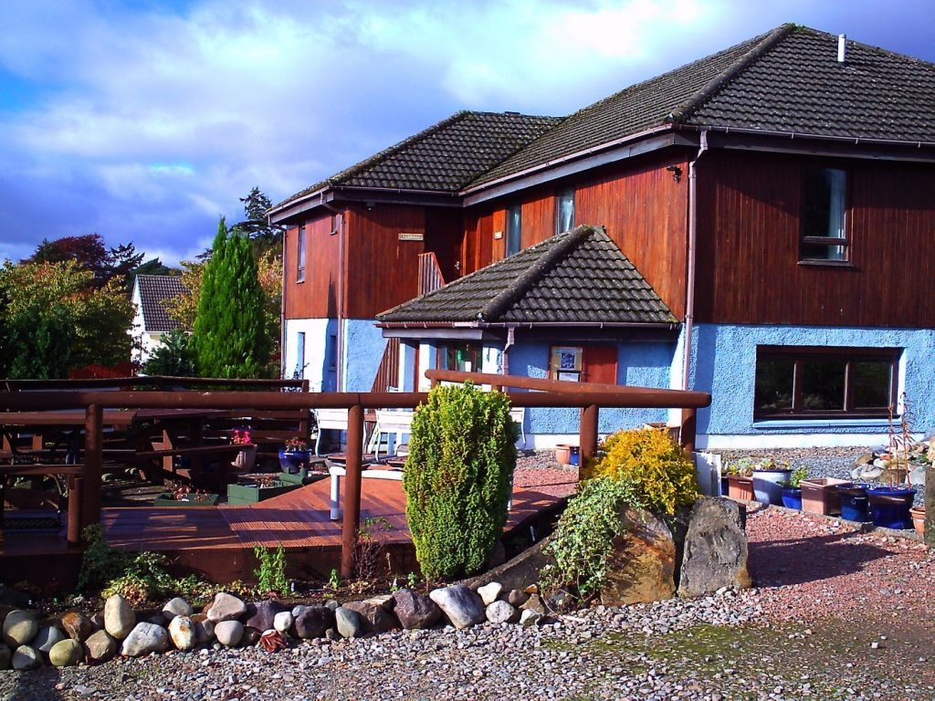 The Snowgoose Mountain Centre in Corpach.