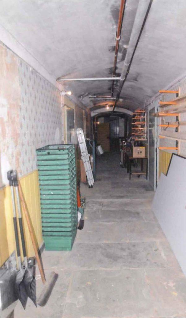 Basement cellar at former St Ninians School