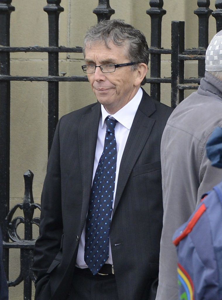 Former teacher Paul Kelly, 64, of Plymouth.