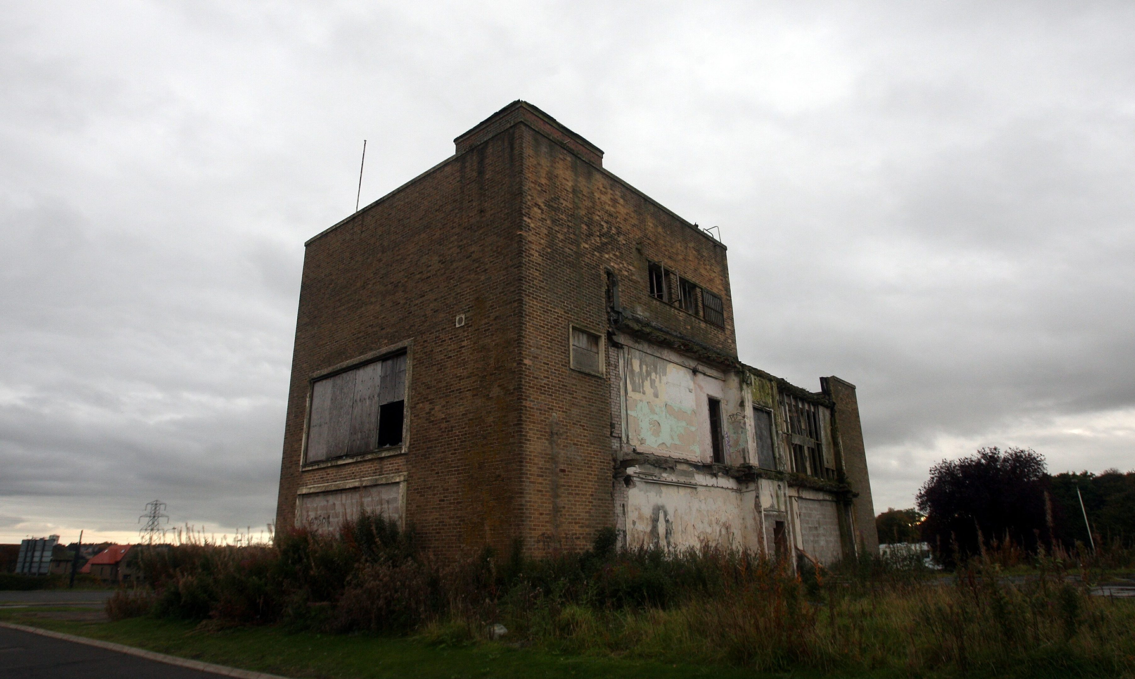 The listed remains of the Van Leer factory.