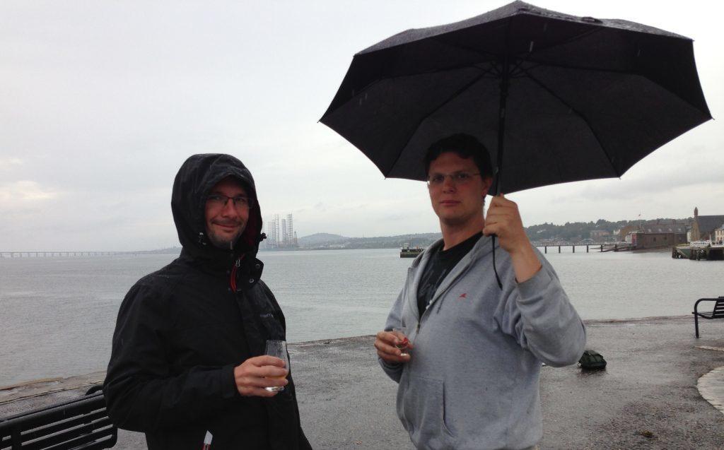 German tourists Henrik Drescher and Chris Kuss