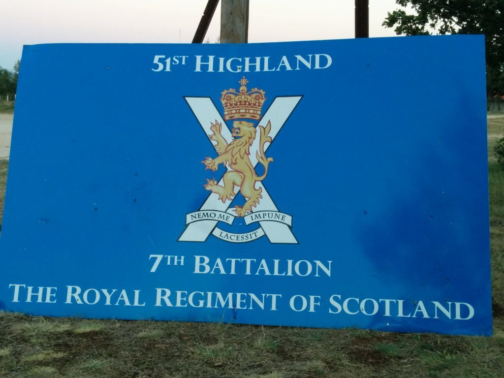 7th Battalion Royal Regiment of Scotland make their mark at Red Earth