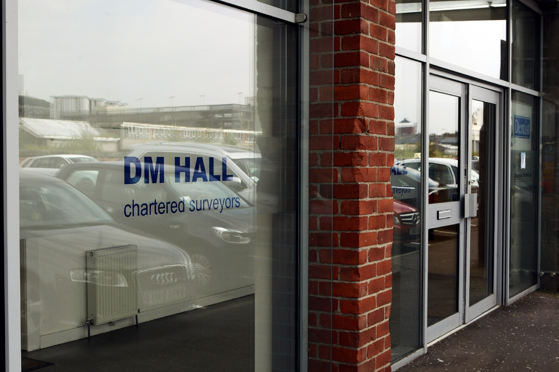 COURIER, DOUGIE NICOLSON, 03/09/14, NEWS. FOR GRAHAM HUBAND, BUSINESS SECTION. Pic shows the DM Hall premises at City Quay in Dundee today, Wednesday 3rd September 2014.