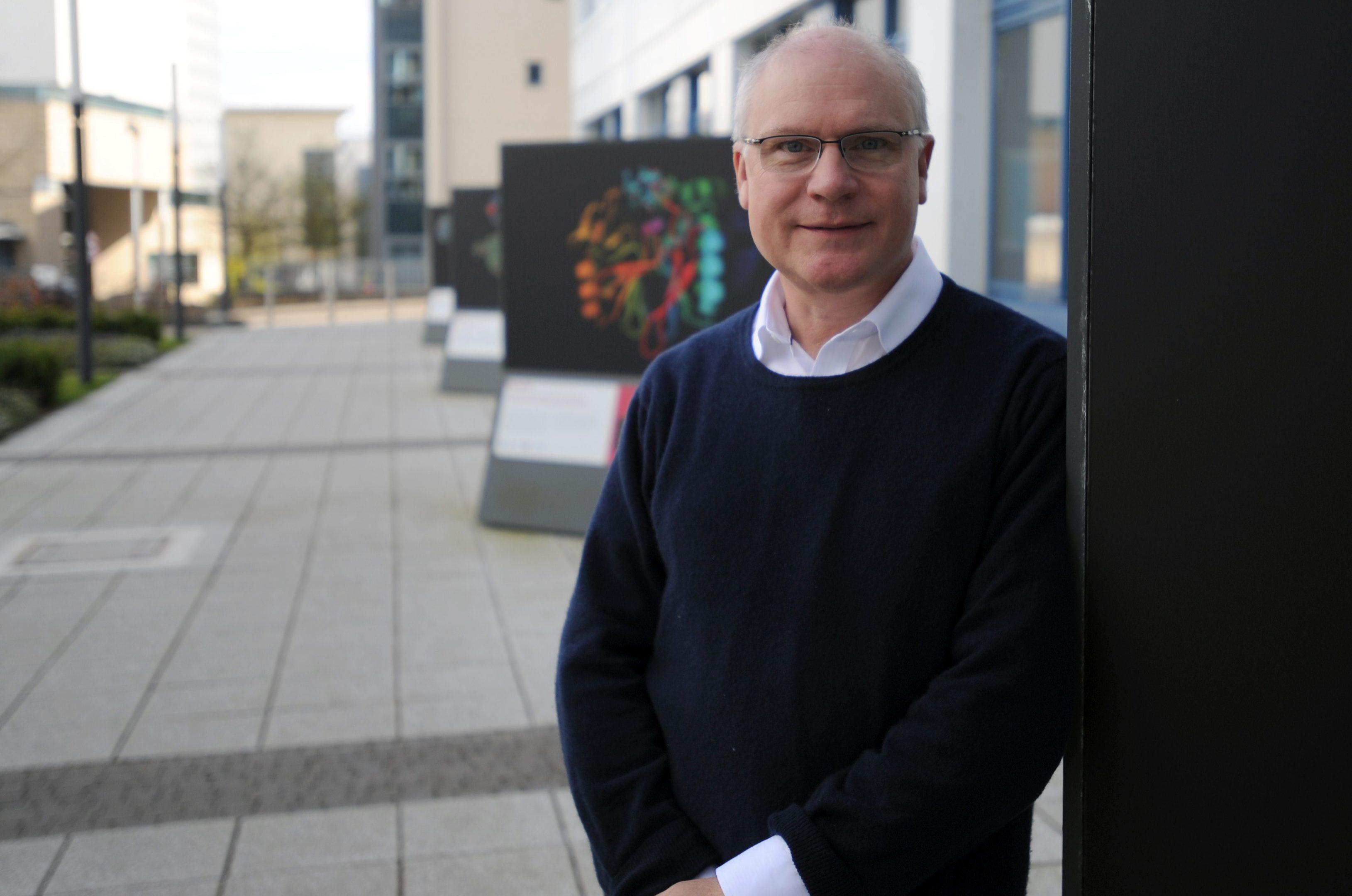 Professor Mike Ferguson of Dundee University