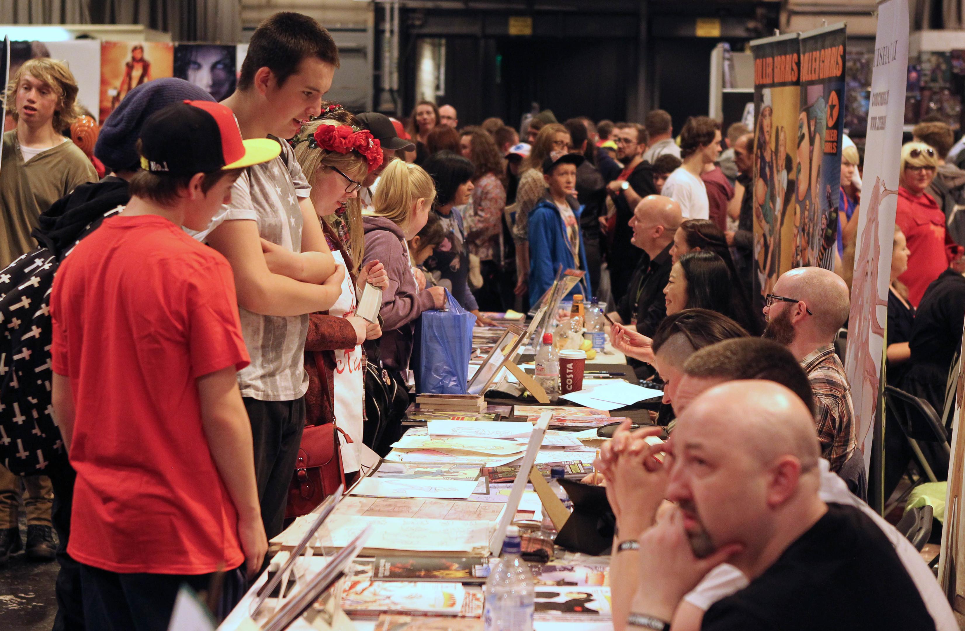 Comic Con at the SECC in Glasgow.