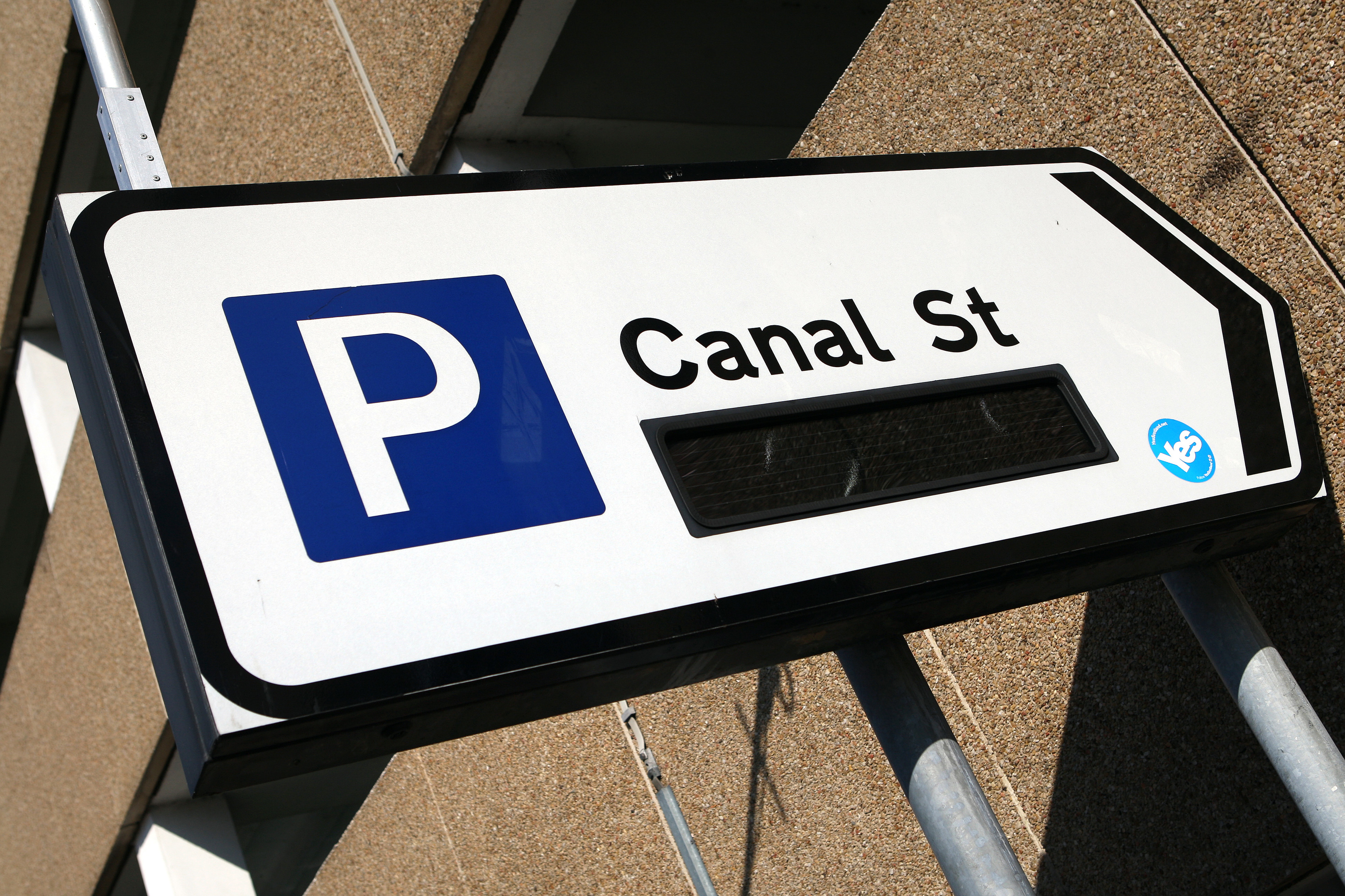 Canal Street multi-storey car park is among those included.