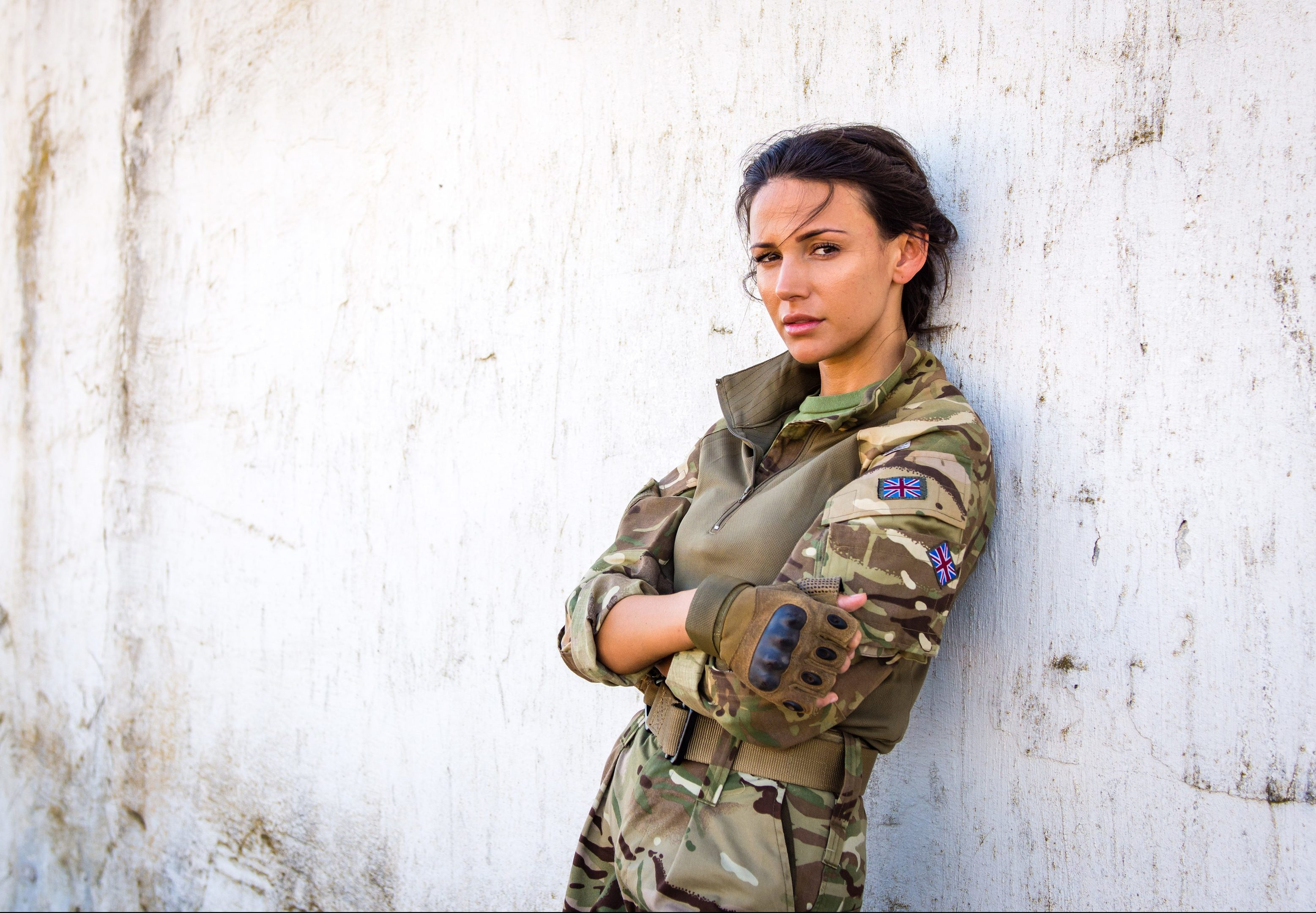 Michelle Keegan in Our Girl.