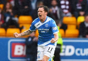 St Johnstone release Danny Swanson as playmaker's third spell at McDiarmid Park comes to an end