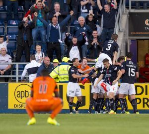 Falkirk celebrations at the weekend.