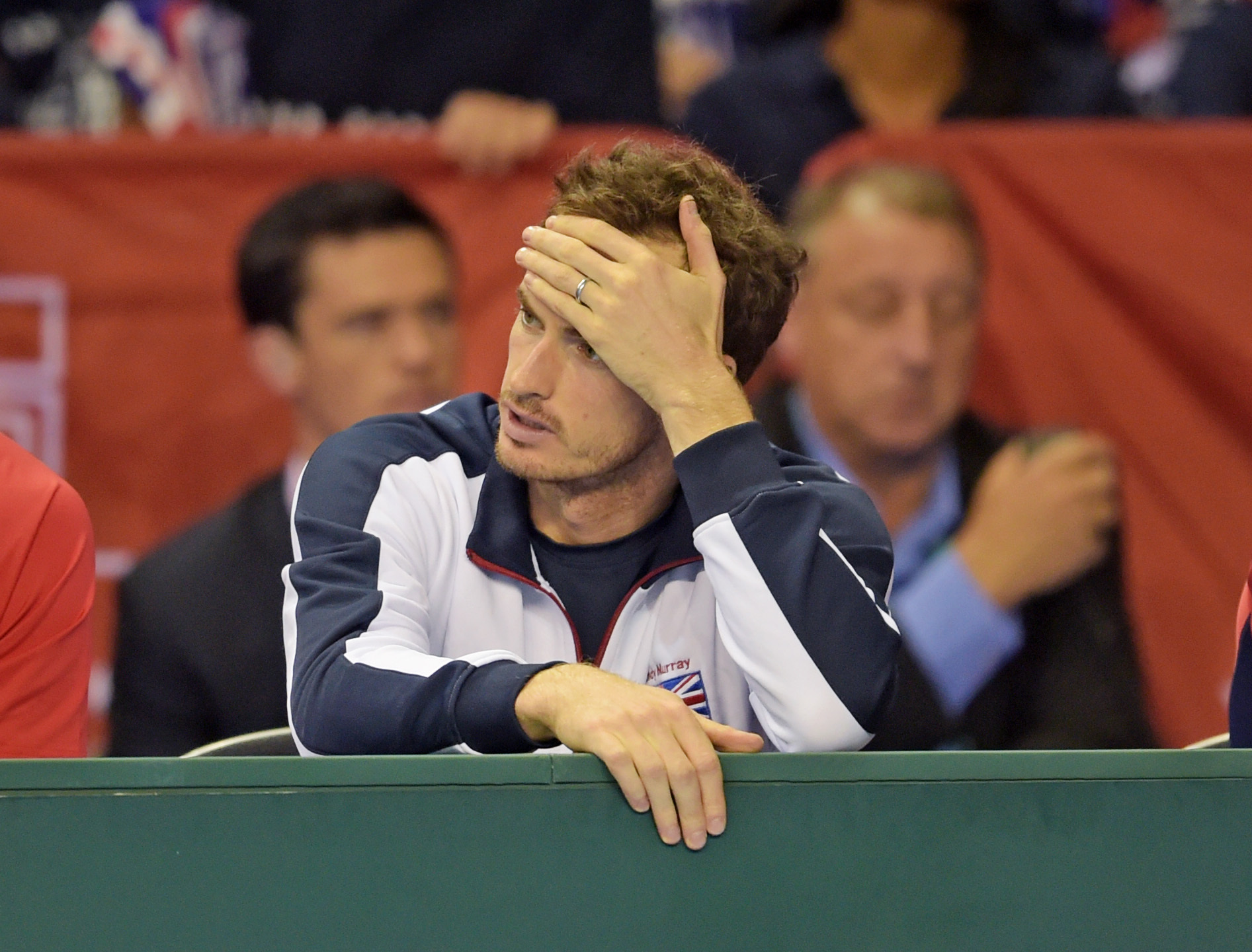 Andy Murray was left less than impressed.