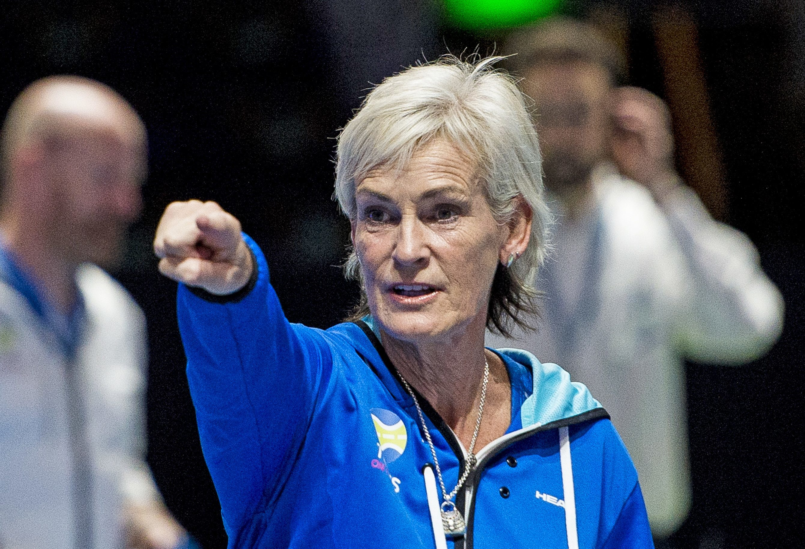 Judy Murray wants to point the way forward for Scottish tennis
