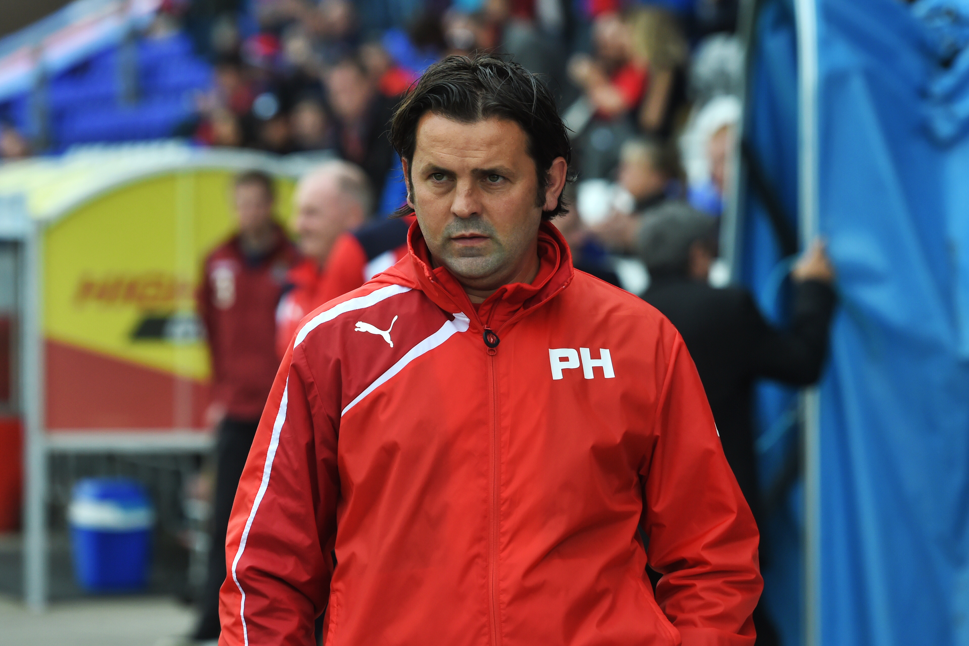 Paul Hartley at Inverness.