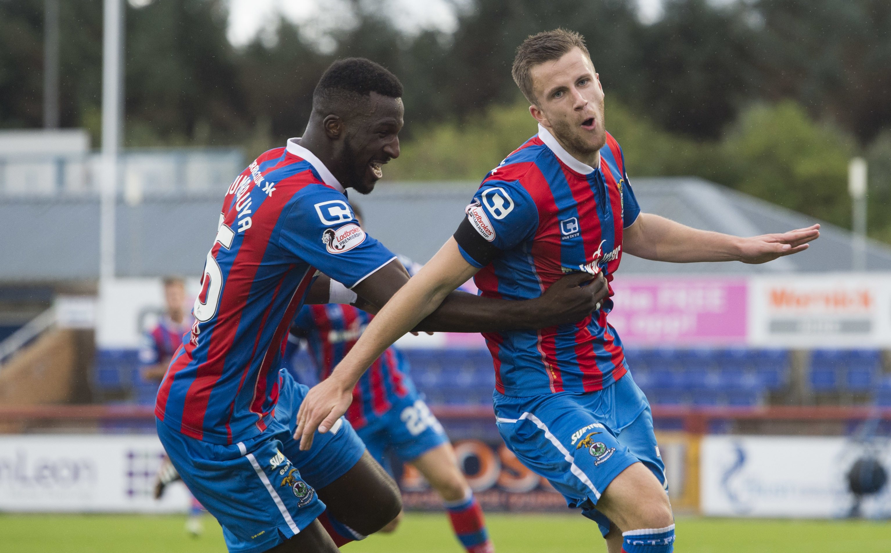 Inverness's Liam Polworth.