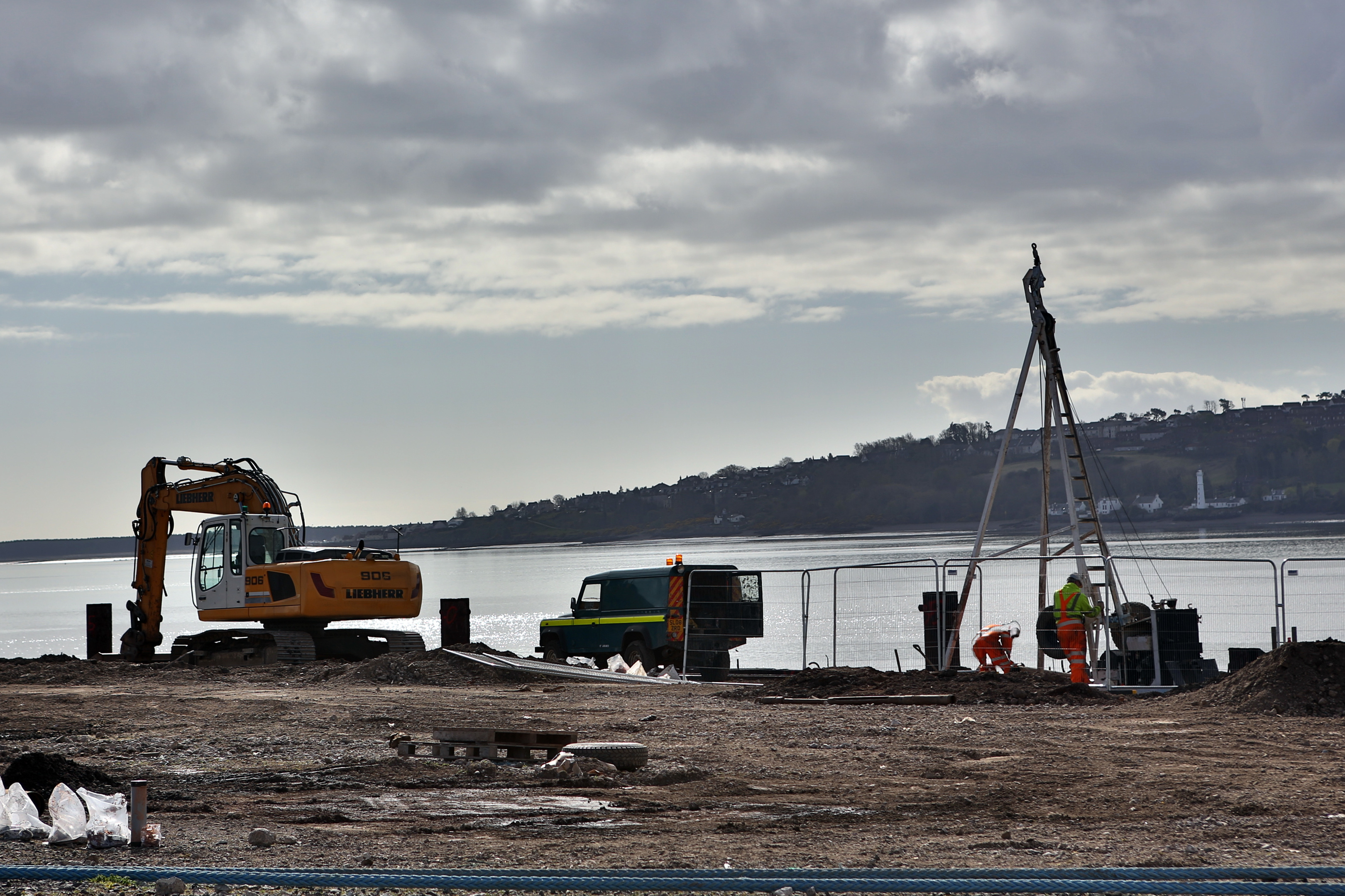Work is already under way at the Port of Dundee on a £10 million upgrade of the dockside to allow heavy infrastructure to be taken on and offshore.