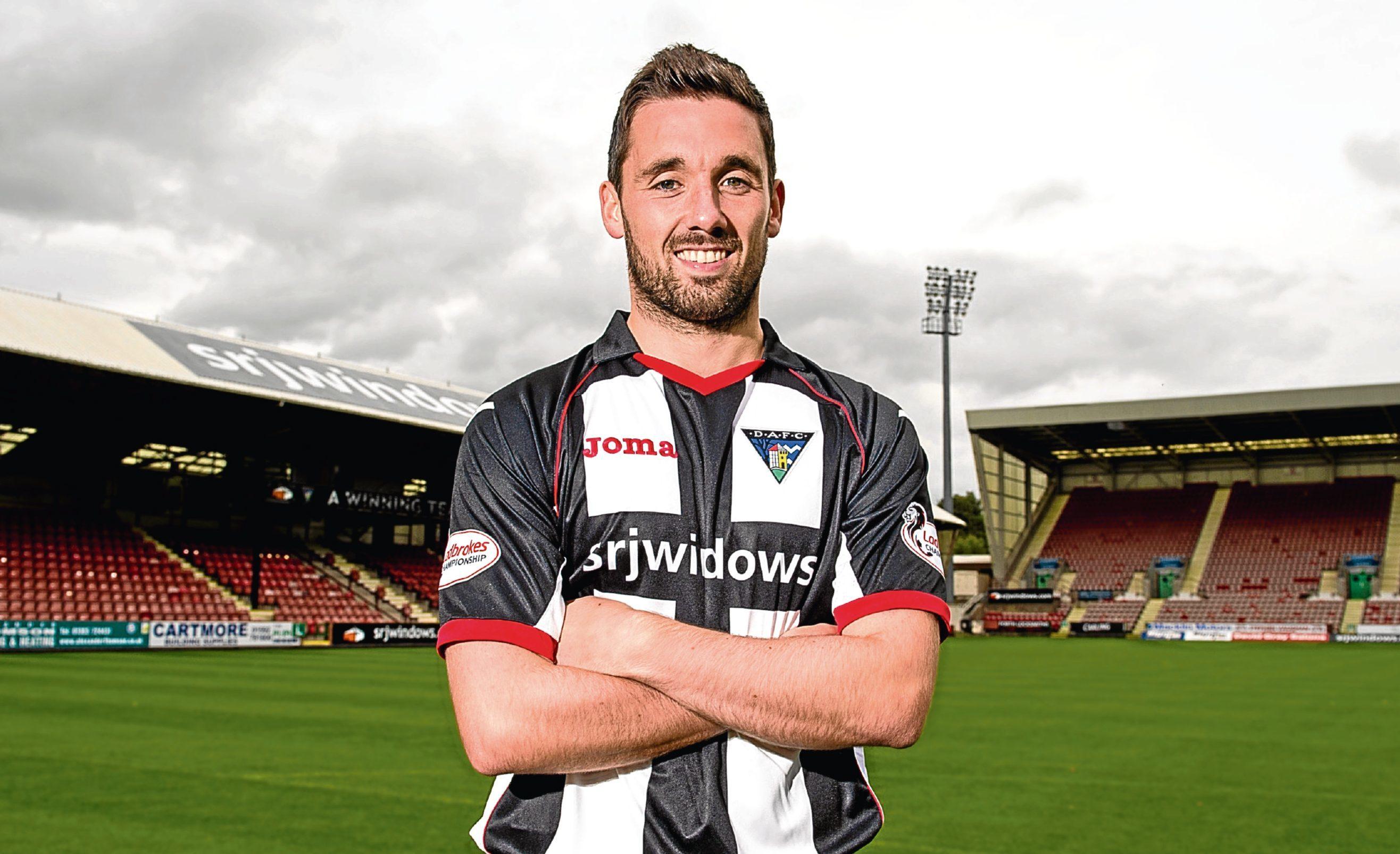 Dunfermline's Nicky Clark.