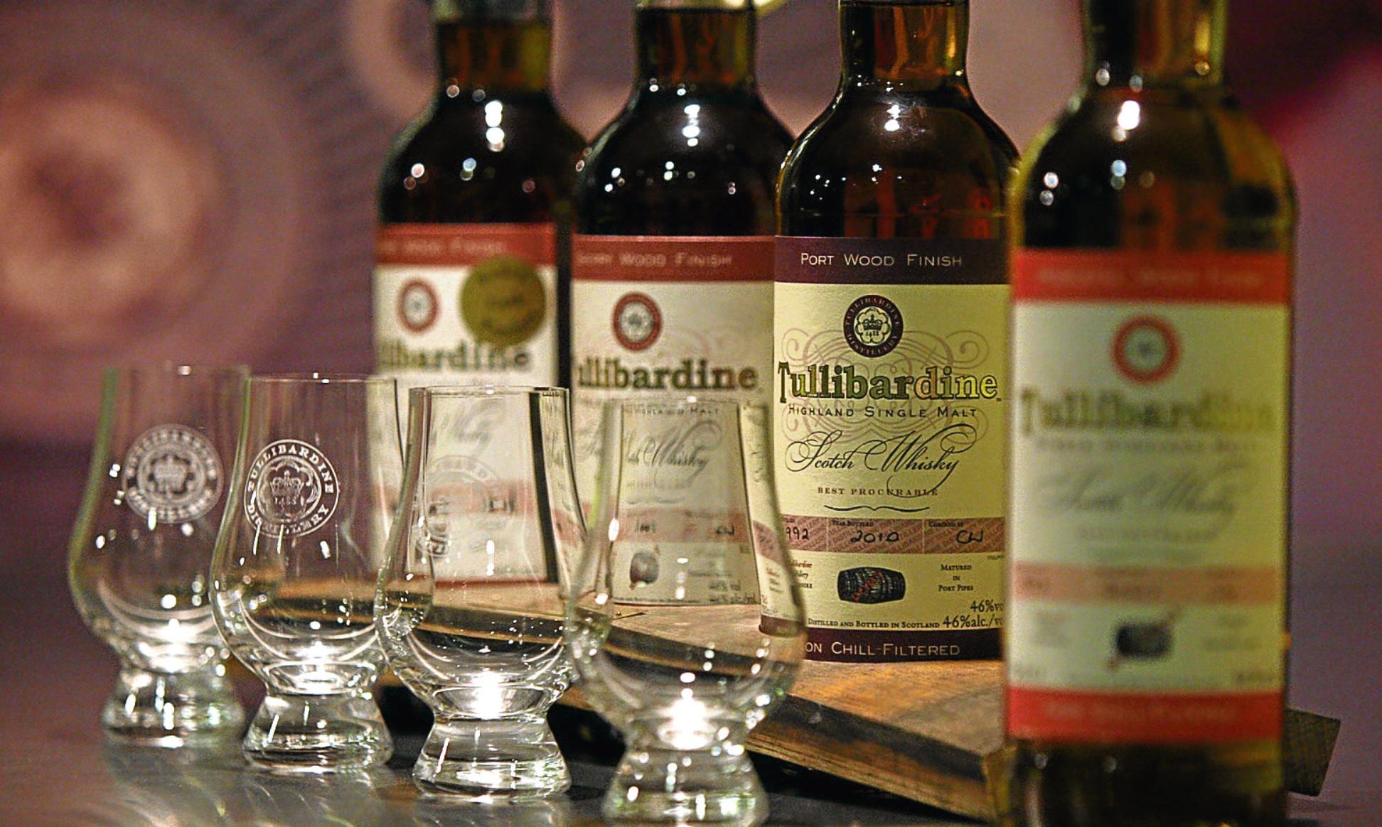 Tullibardine malt whisky is in strong demand
