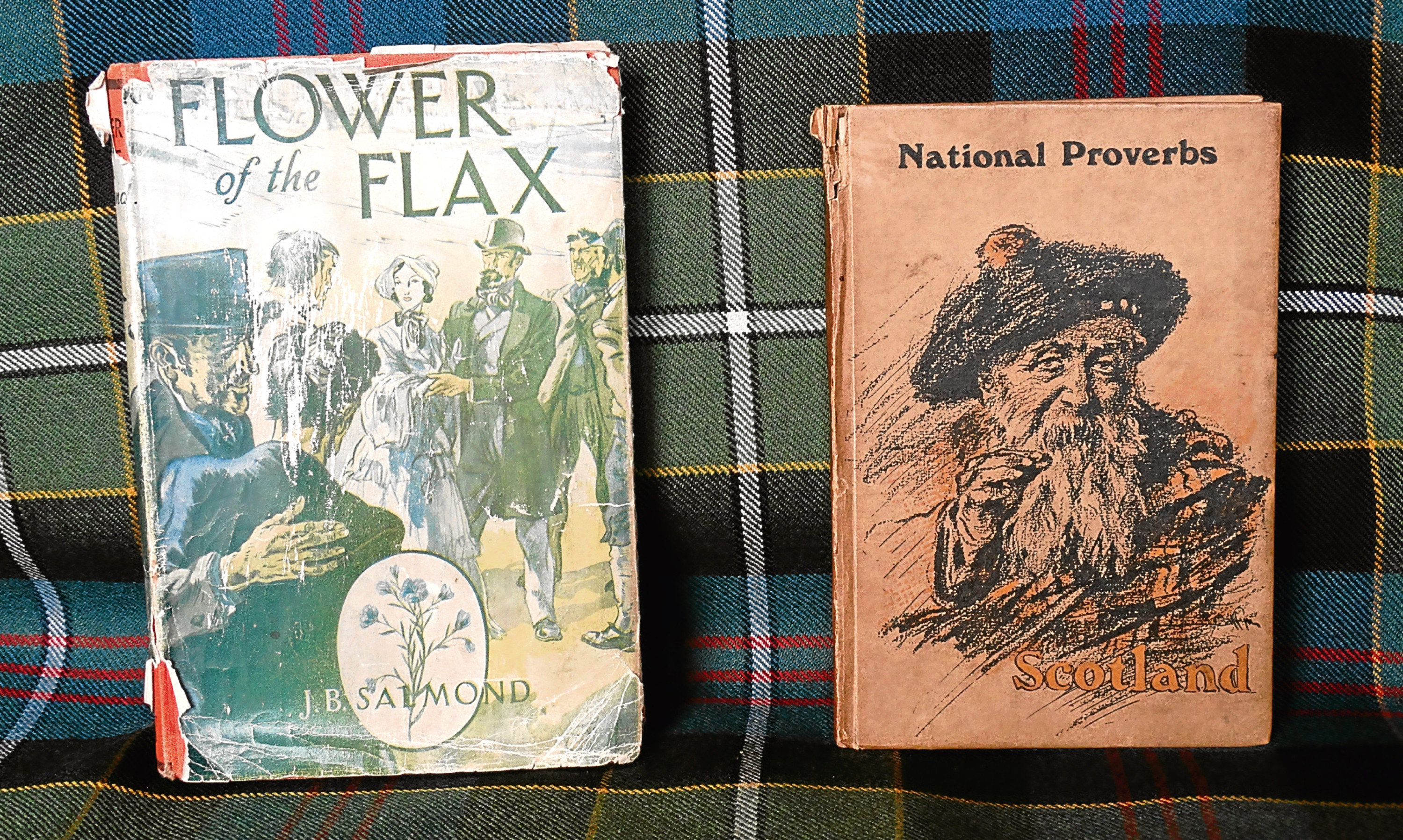 New additions to Anguss library, though not all the proverbs are perhaps suited to the modern era.