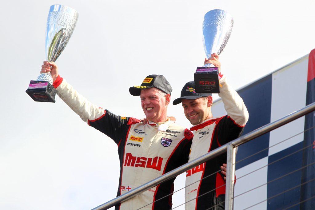 Derek Johnston / Jonny Adam TF Sport Aston Martin GT3