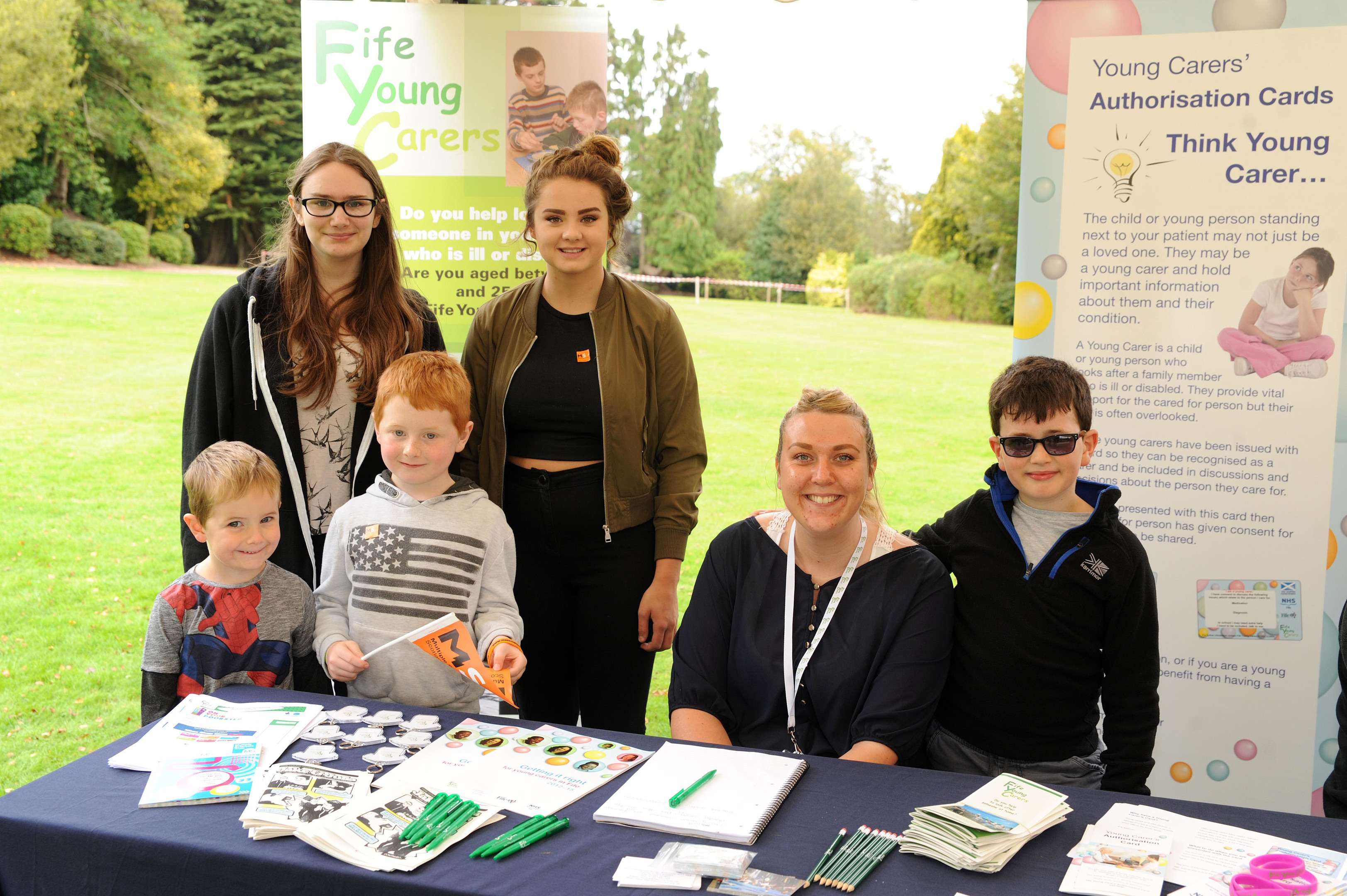 MS Society Fife held a family fun day at Craigtoun Country Park in St Andrews.