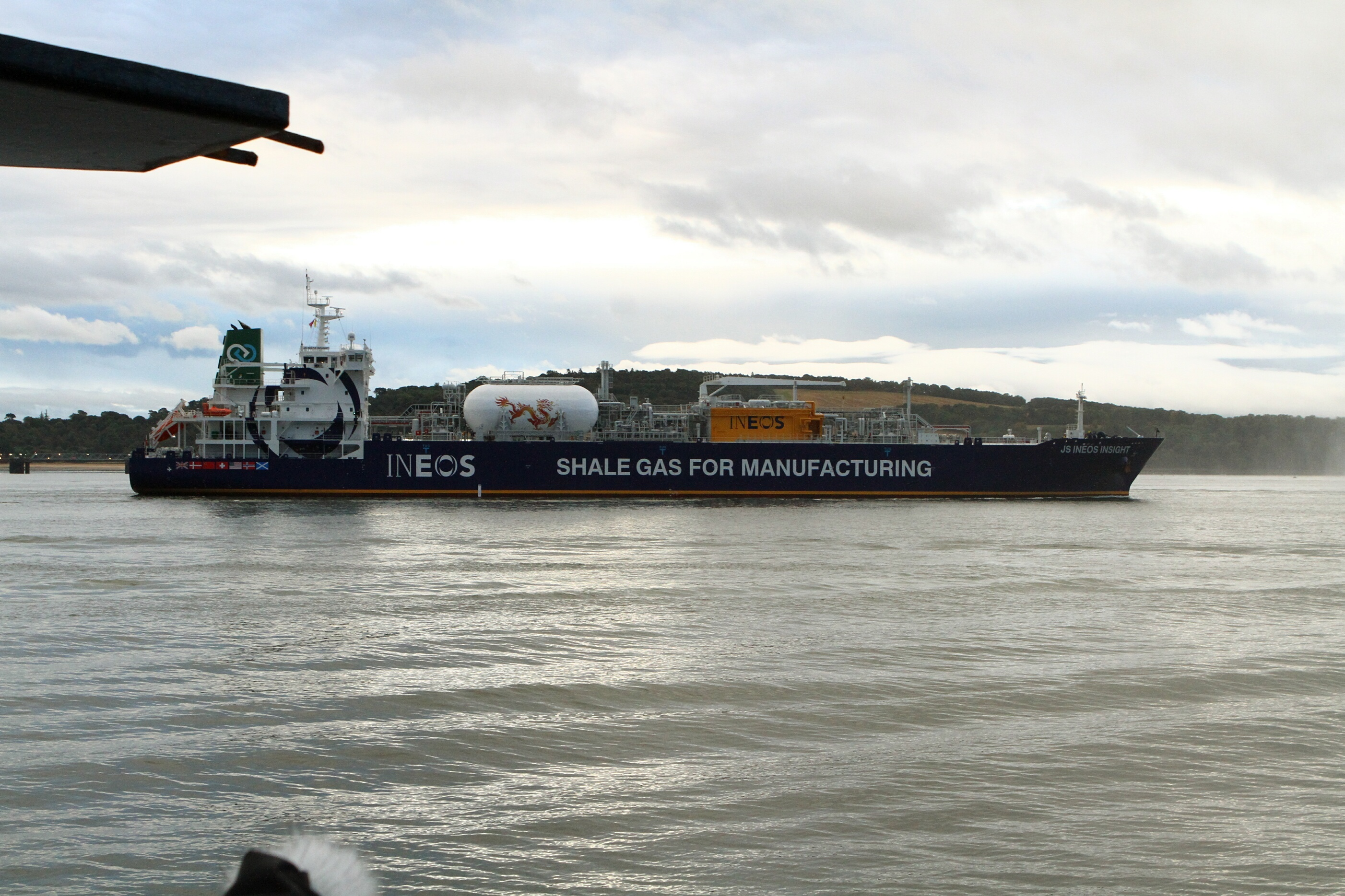 The INEOS Insight in the Forth