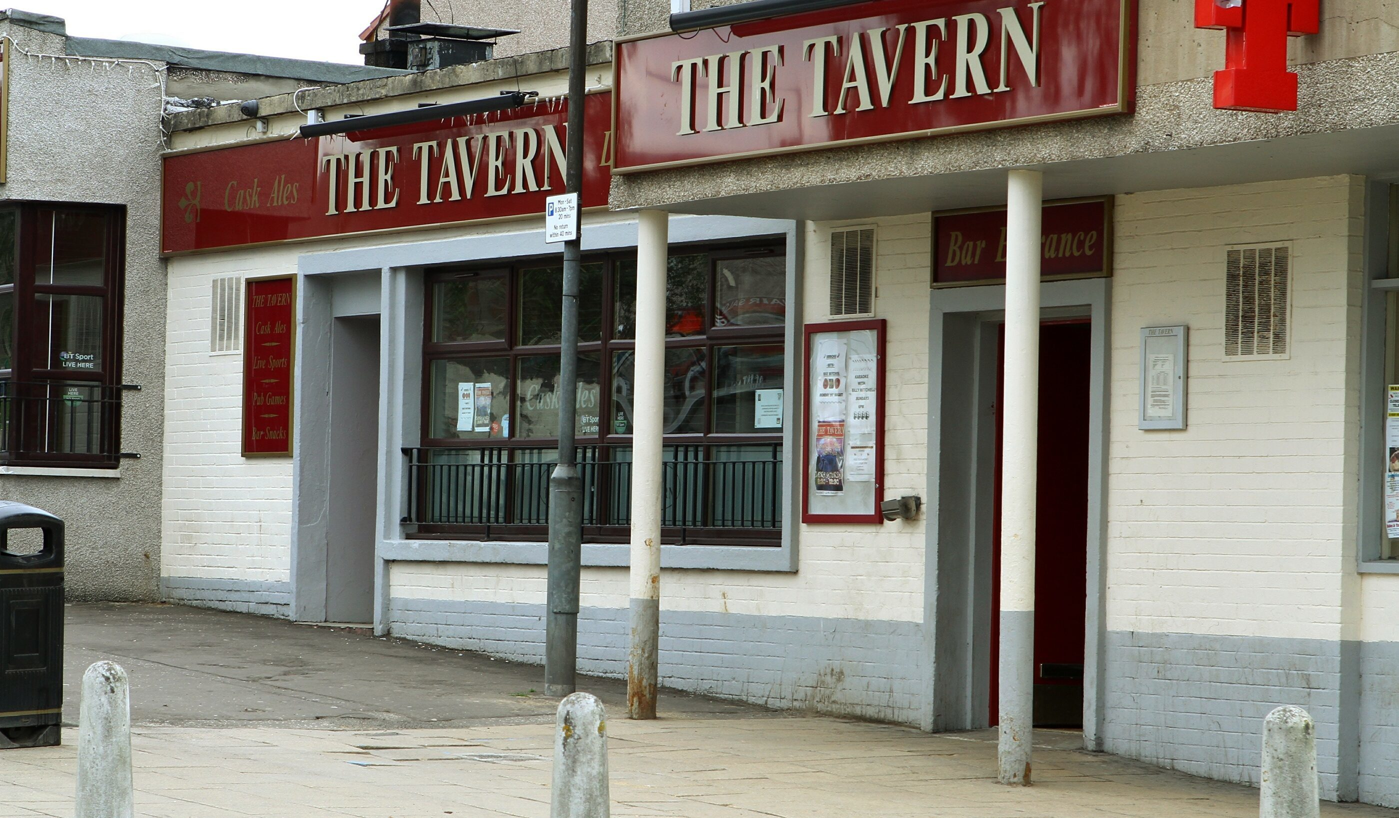 The Tavern in Templehall,