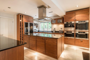 """The """"superb"""" kitchen, which backs on to the family/garden room"""