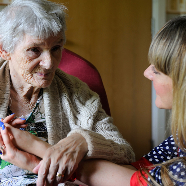 Dr Maggie Ellis' research specialises in communication with dementia patients