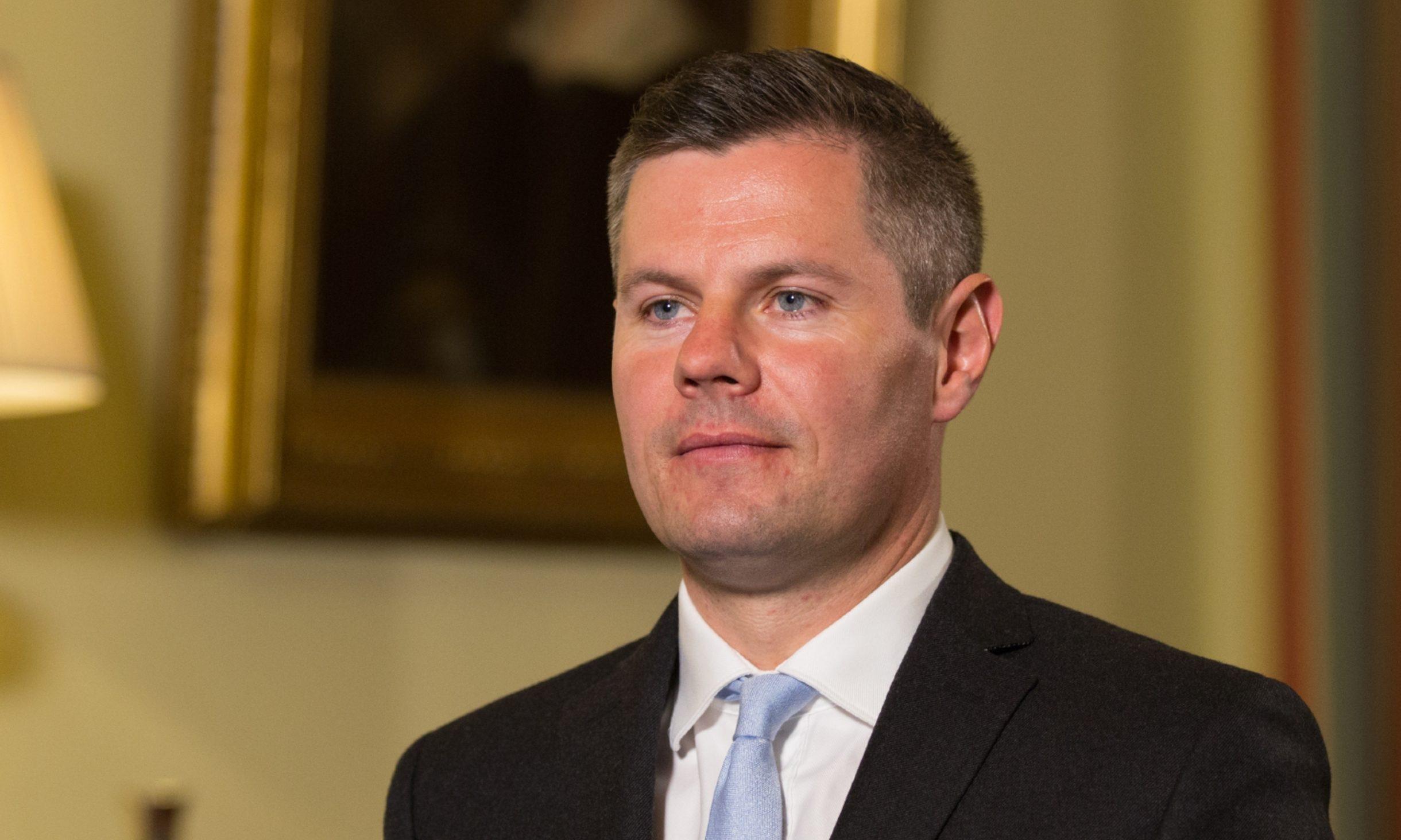 Derek Mackay, cabinet secretary for Finance