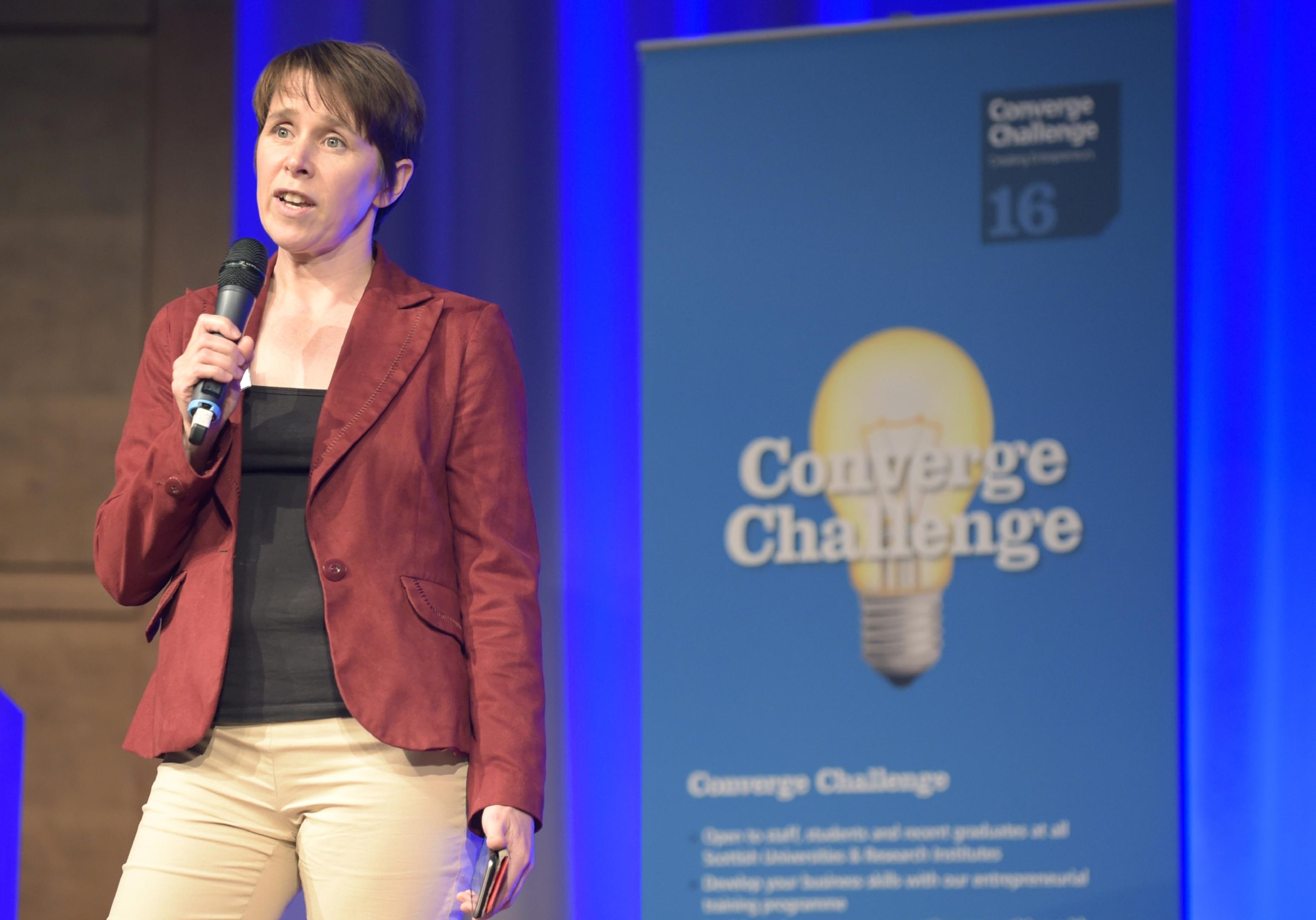 Dr Deborah Wake, Dundee University.