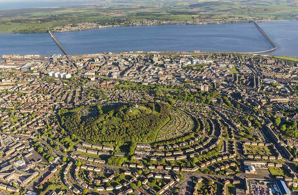 Dundee from above