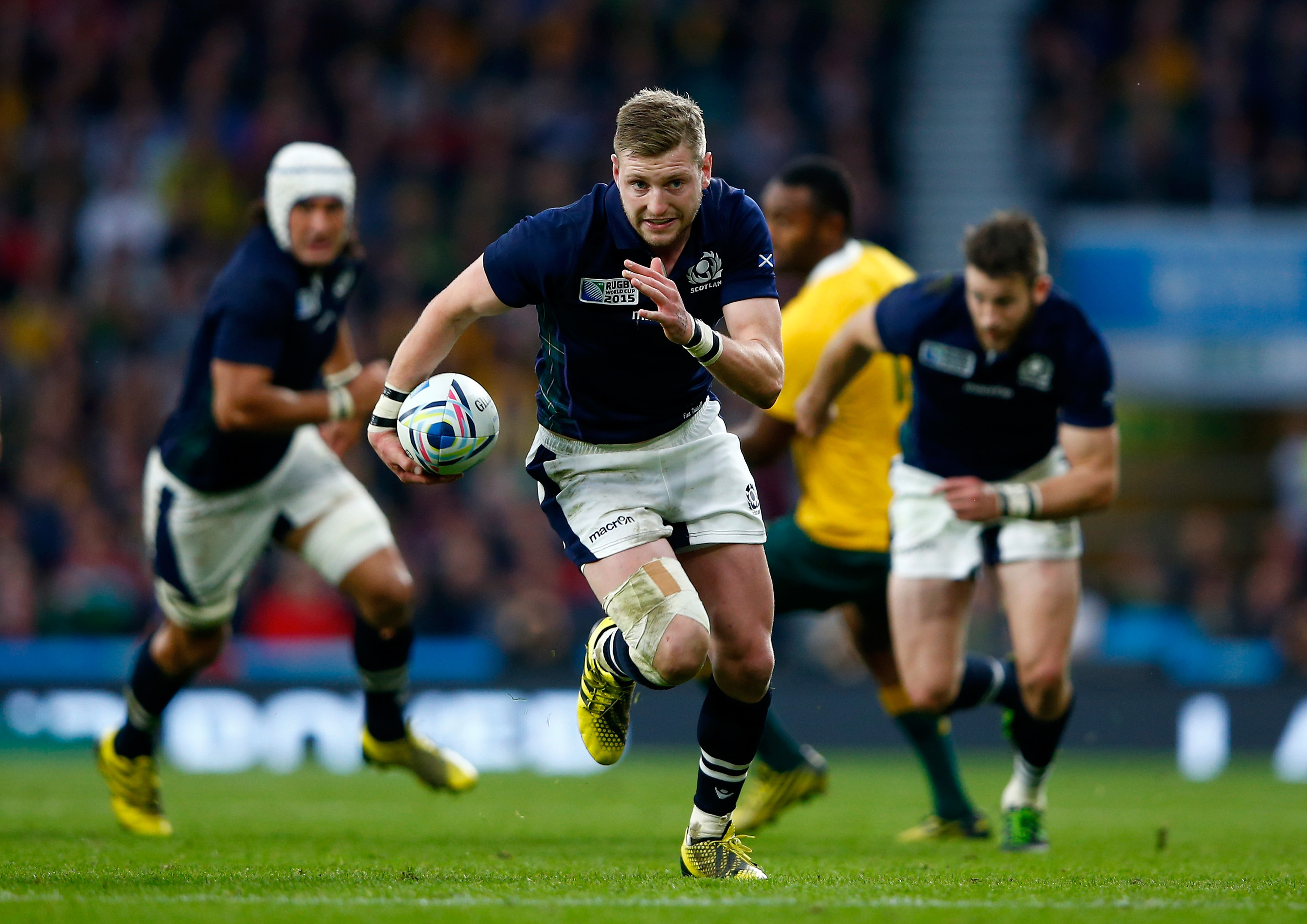 Scotland stand-off Finn Russell will make his return to competitive action this weekend.