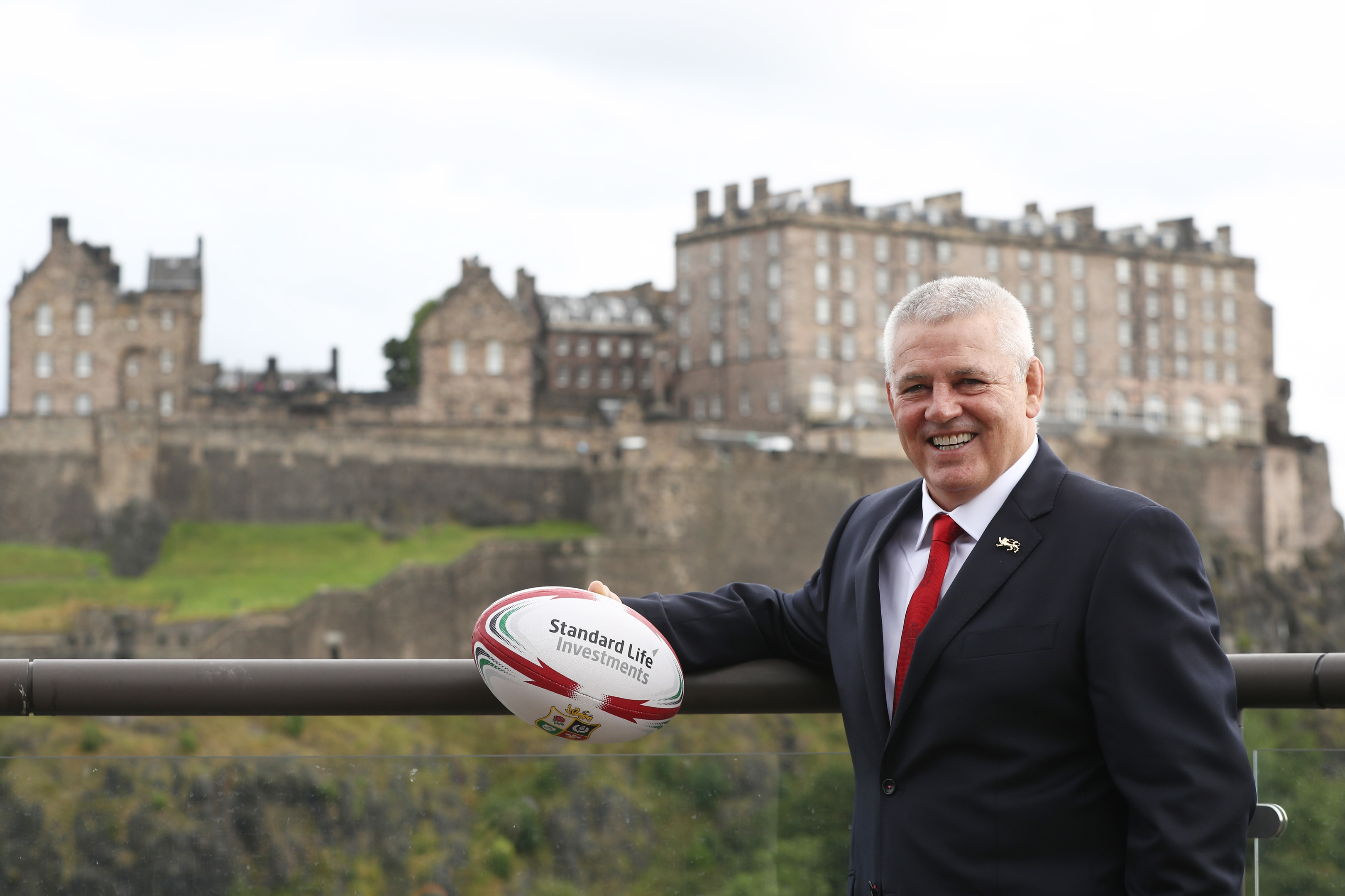 Warren Gatland, announced in Edinburgh yesterday as 2017 Lions coach, will pick his squad and team on merit only.