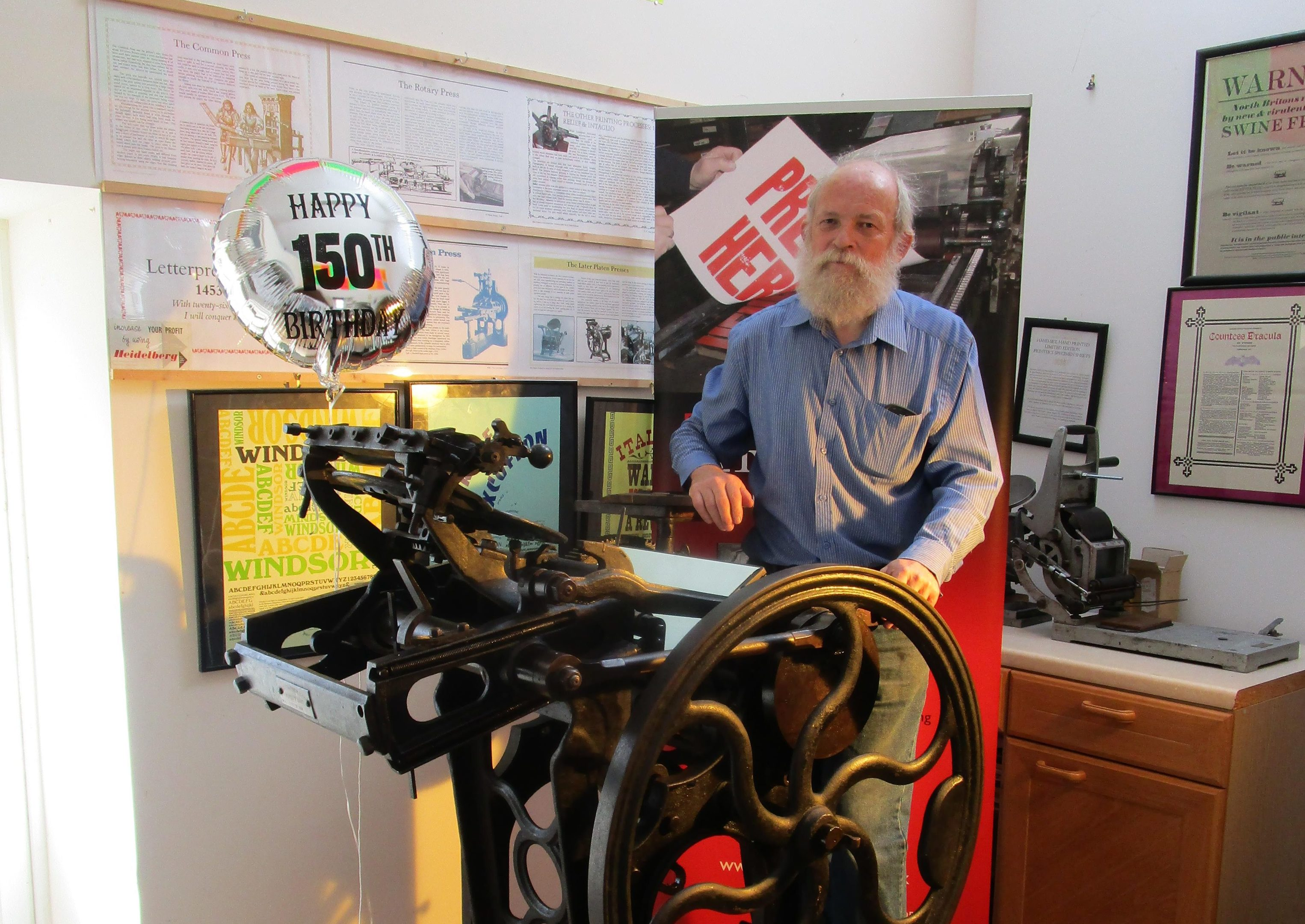 John Easson and the Cropper Press.