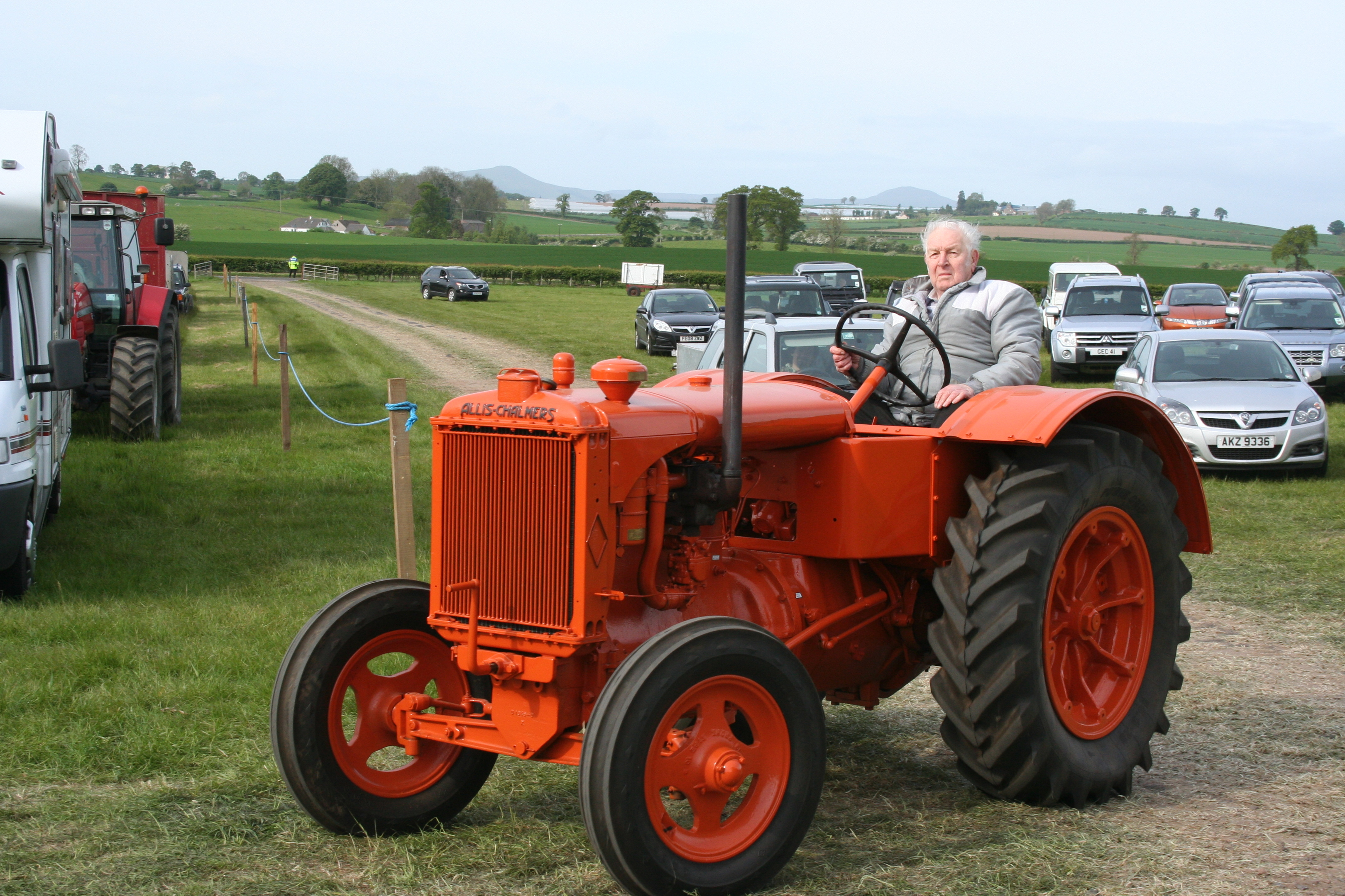 Murray Simpson amassed a collection of 45 tractors