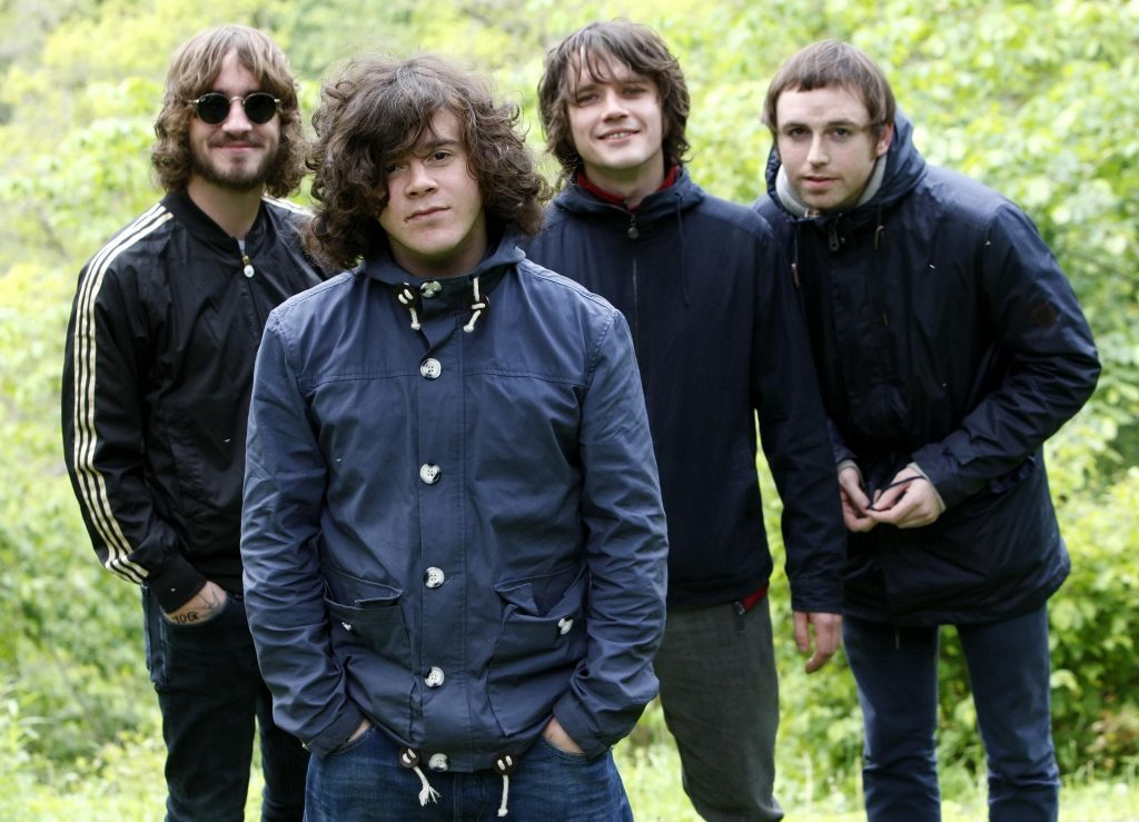 Pictured in 2011 ahead of a charity bungee jump in Perthshire are (Left to right) members of band The View, Peter Reilly, Kyle Falconer, Kieren Webster and Steven Morrison,