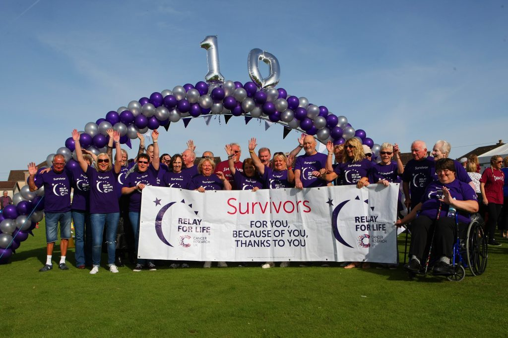 Arbroath Relay for Life marked a decade of success in 2016.
