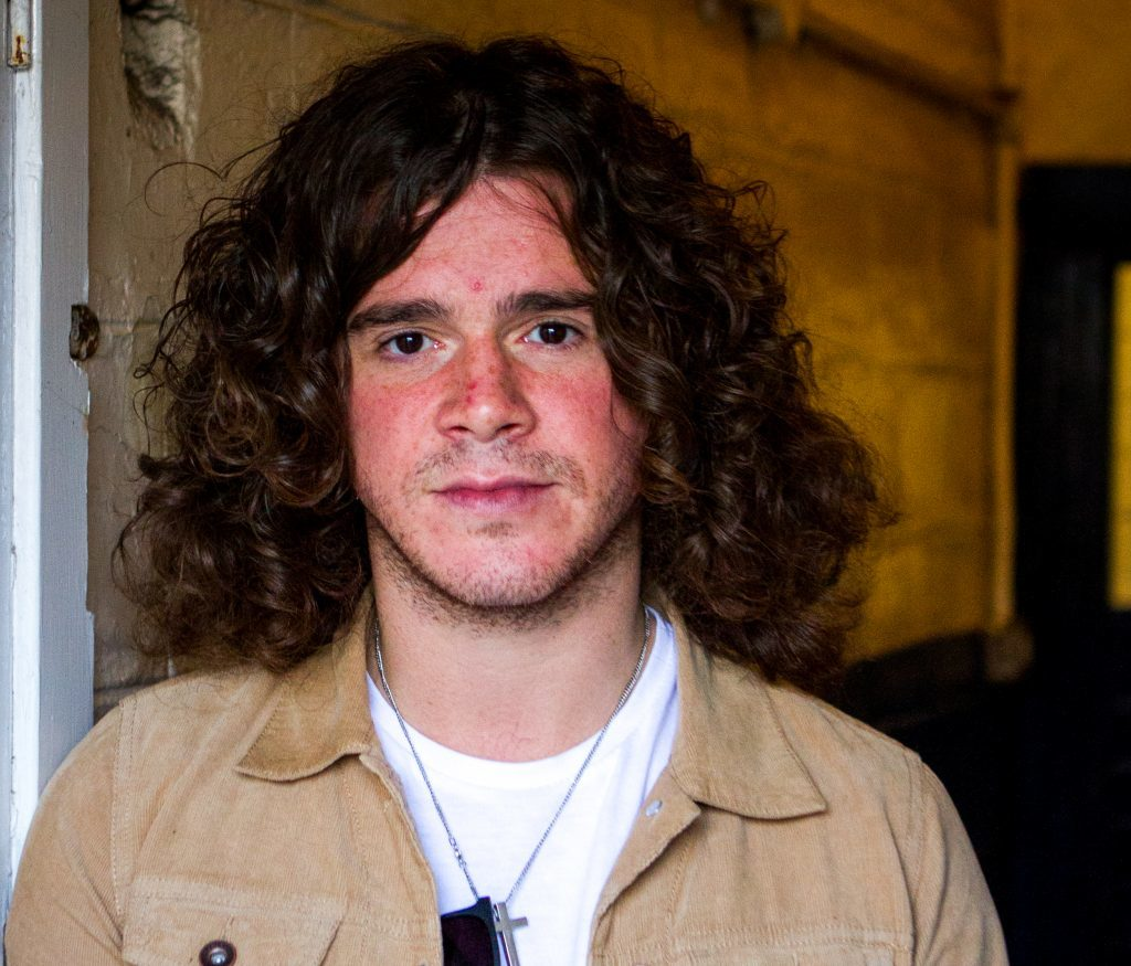 The View front man Kyle Falconer speaks exclusively to The Courier at DM (Dundee Music) Studios