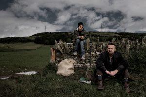 Actors Liam Brennan as Crowman and Nathan Machallam as Crowboy.