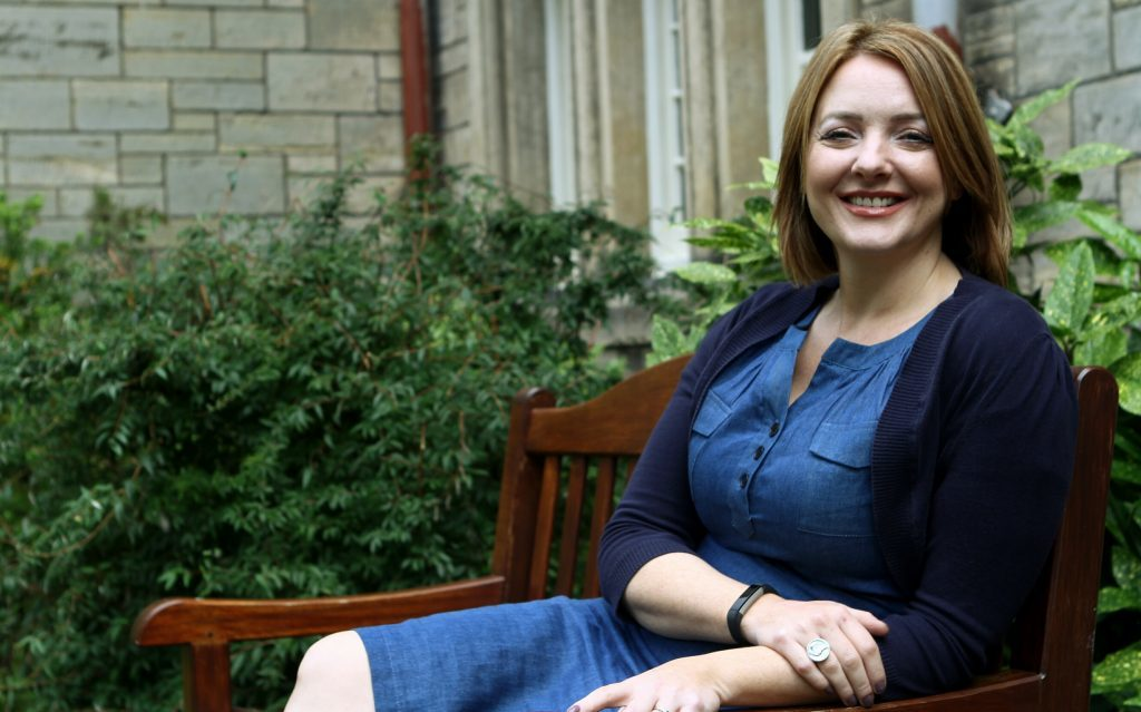 Dr Maggie Ellis,  Fellow in Dementia Care at the School of Psychology at St Andrews University
