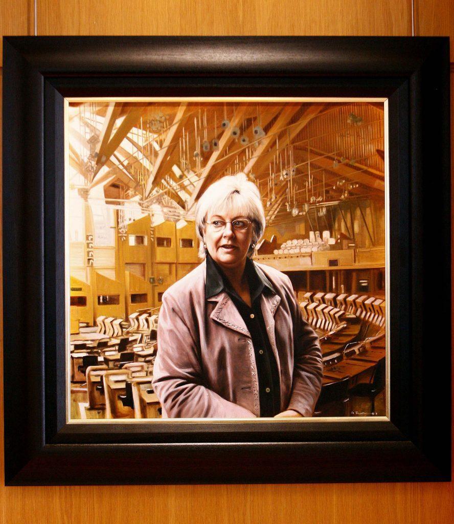 Margo MacDonald portrait