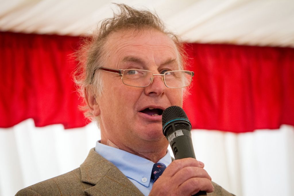 Sam Morshead gives an emotional speech to friends/colleagues as he retires from Perth Racecourse