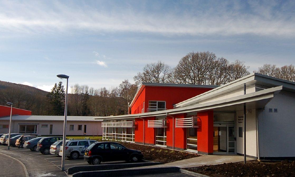 Pitlochry Community Hospital.